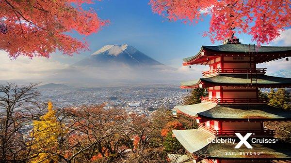 Celebrity Millenniumi Aasia kruiisid: Jaapan, Lõuna-Korea, Hiina, Taiwan