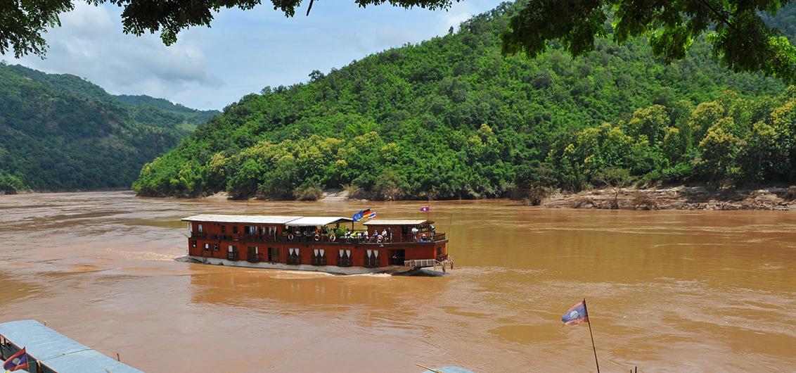 Mekongi jõekruiisid Laose põhjaosas