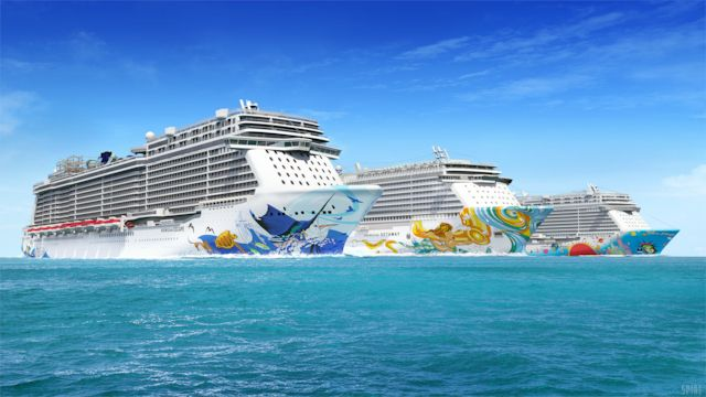 Norwegian Cruise Line Premium All Inclusive+pardaraha+60 min WiFit!