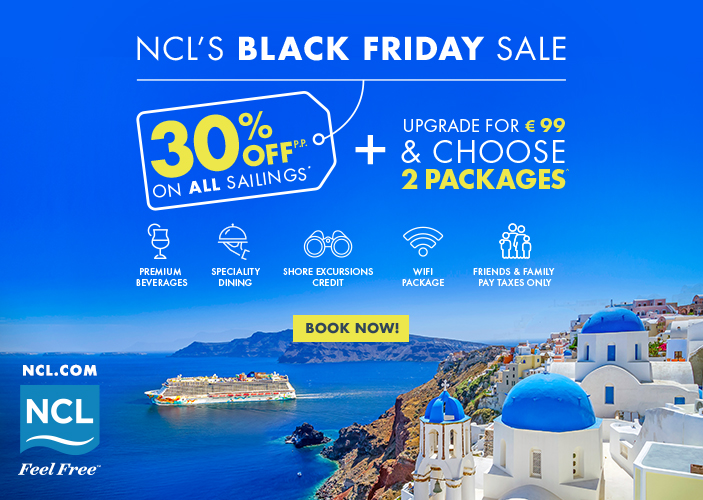 Norwegian Cruise Line: kõik kruiisid -30%!