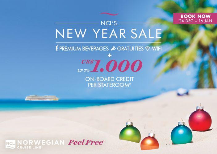 Norwegian Cruise Line: kuni 1000 USD pardaraha Premium All Inclusive kruiisi tellijale