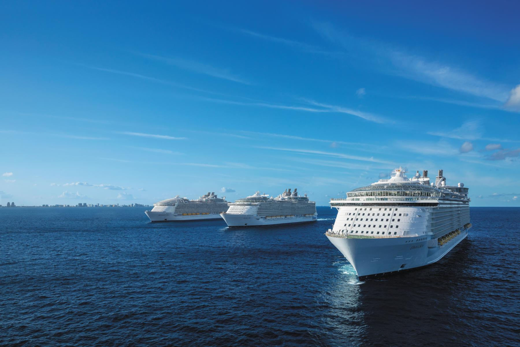 RCL:Lääne-Kariibi kruiis maailma suurimate laevadega, algus Floridast