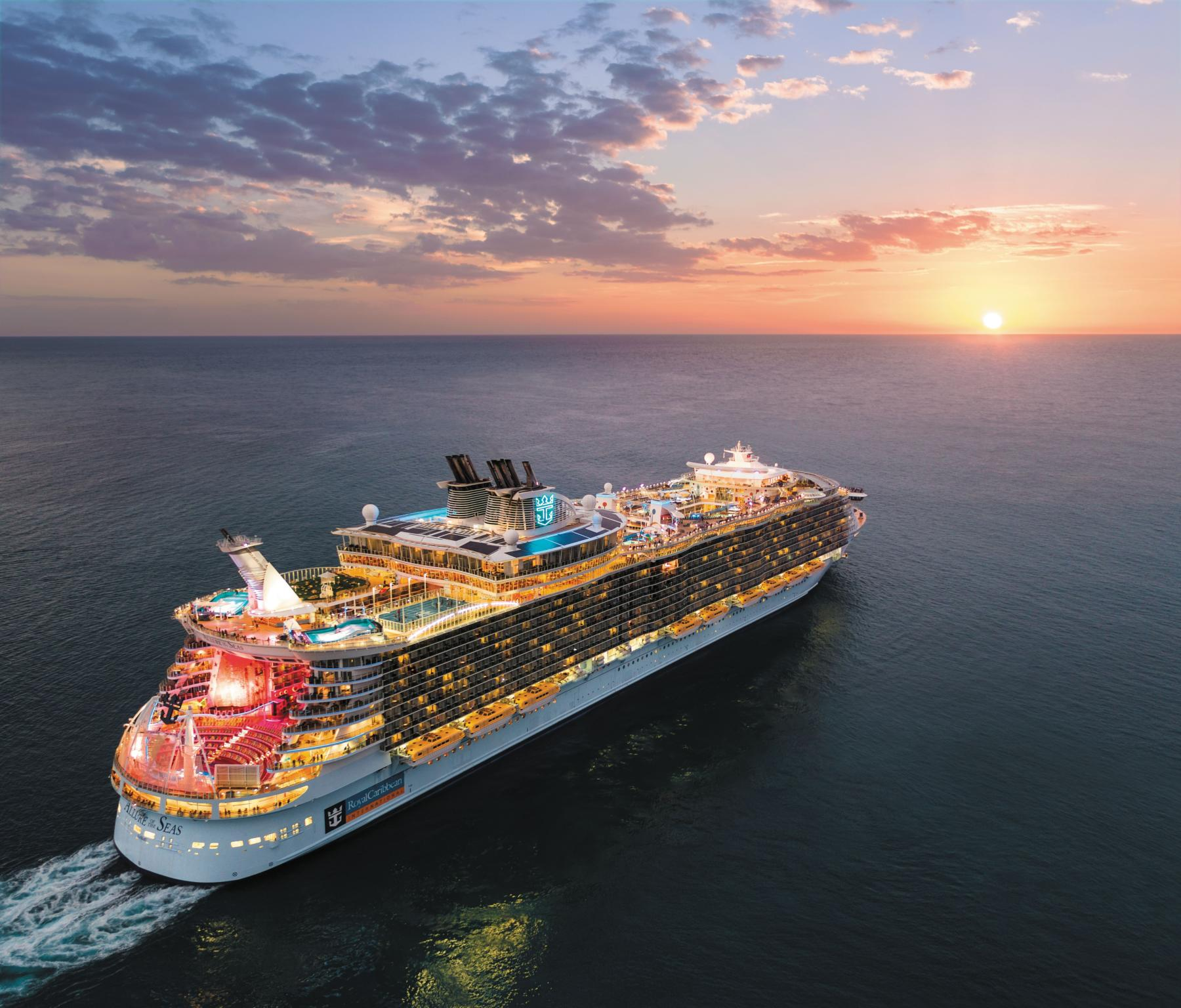 Allure of the Seas Vahemere kruiisid suvi 2020