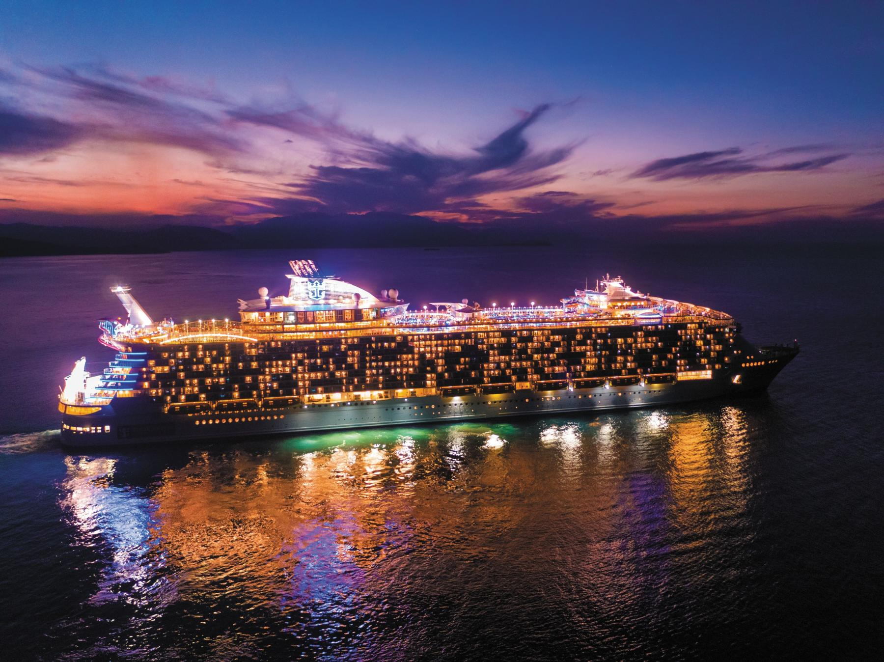 Harmony of the Seas Vahemere kruiisid 2021/Allure of the Seas 2022