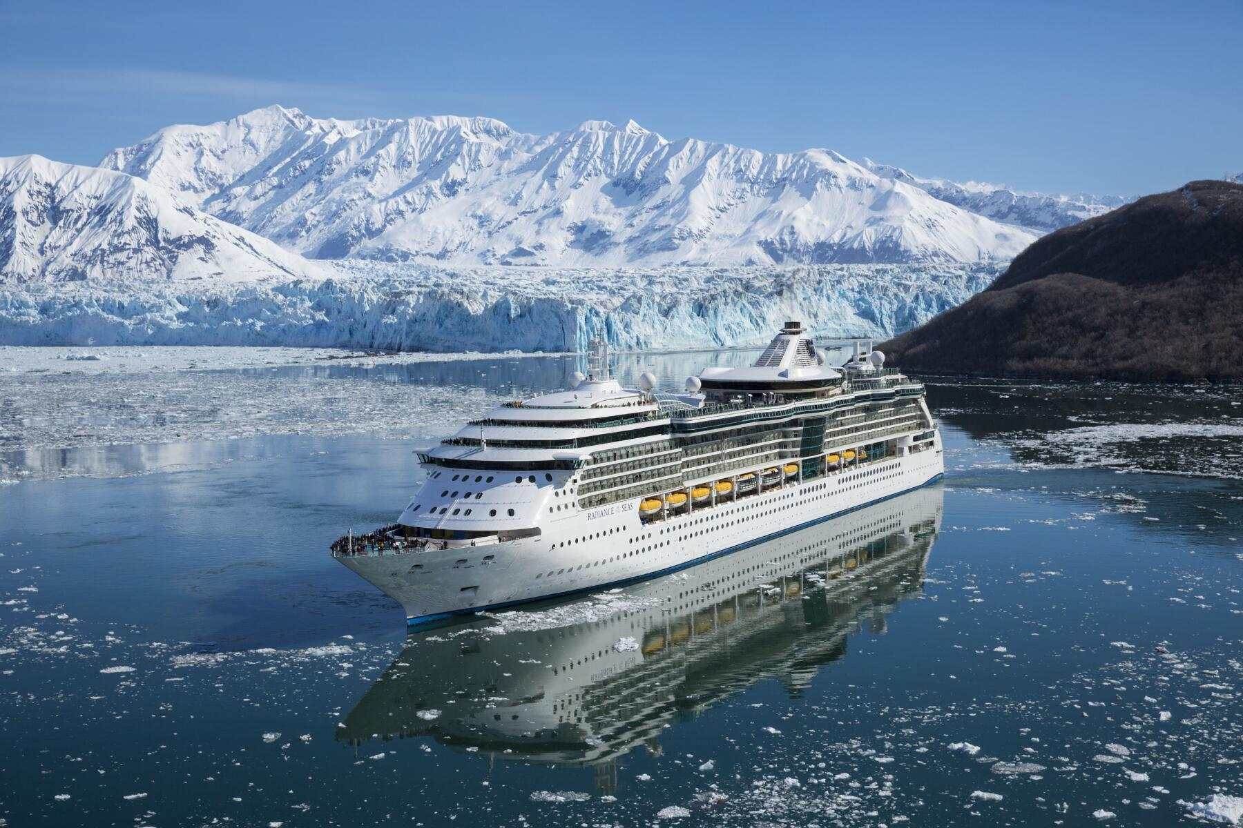 Radiance of the Seas Alaska. Algus Sewardist või Vancouverist